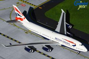 Gemini Jets British Airways B747-400 1:200 Scale G2BAW906 With Stand