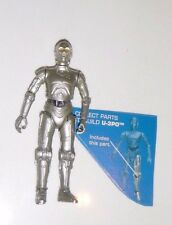Star Wars: The Legacy Collection 2008 U-3PO (SILVER) (BUILD-A-DROID) Loose U-3PO