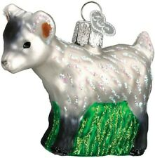 Old World Christmas 12285 Glass Blown Pygmy Goat Ornament