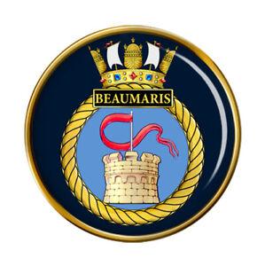 HMS Beaumaris, Royal Navy Pin Badge