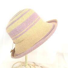 08ebd60b4d5834 Womens Purple Lavender Hat Wide Turned Brim Easter Spring Church Derby  Betmar