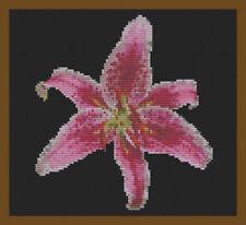 Sets de punto de cruz, flores