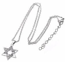 Hebrew Shema inStar of David necklace,w/chain,Messianic Jewish Interest! Yeshua!