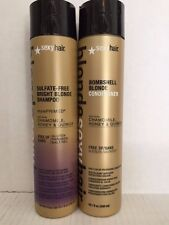 Sulfate-Free Bombshell Bright Blonde Shampoo/Blonde Conditioner 10 OZ unisex