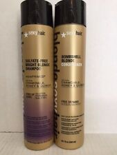 Sulfate-Free Bombshell Bright Blonde Shampoo/Blonde Conditioner 10 OZ unisex