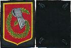6° Division Légère Blindée, type 3164,gant gris,insigne d'épaule en tissu(10017)