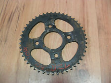 YAMAHA TZR50 4YV 5DU IMPORT 1996-2002 JT REAR SPROCKET STEEL JTR835-47 47 TEETH