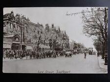 WW1 Lanc SOUTHPORT Lord Street LEYLAND ARCADE c1917 Postcard by Press Bureau
