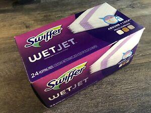 Swiffer 08443 WetJet Floor Cleaner Mop Refill Pad - 24 Count