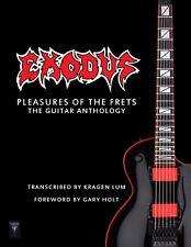 "Exodus ""Pleasures Of The Frets: The Guitar Anthology"" Tab Book Metallica Slayer"