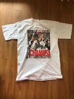 2005 Chicago White Sox World Series Champs T-Shirt Mens Medium