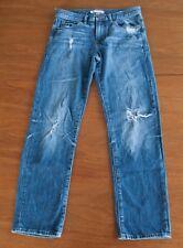 Banana Republic Women's Size 25 Distressed Relaxed Fit Boyfriend Denim Jeans