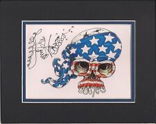 new orleans artist Jamie Hayes EXPLODING SKULLS MATTED GICLEE 8X10 SIGNED
