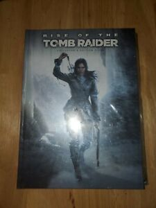 Rise of the Tomb Raider Guide Book Collector's Edition Hardcover ***BRAND NEW***