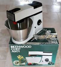 KENWOOD CHEF 1970 FOOD MIXER STAINLESS STEEL BOWL KBEATER WHISK ORIGINAL BOX NEW