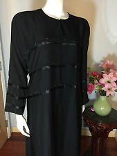Umbrella Fancy Dubai Khaleeji Abaya Muslim Jilbab With Hijab Size XL 60