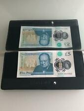 COLLECTABLE!  £5 Polymer Notes | AA54 280 ... CHARITY DONATION