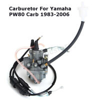 Carburetor Throttle Cable Fuel Filter For 1983-2006 Yamaha PW80 Dirt Bike Carb