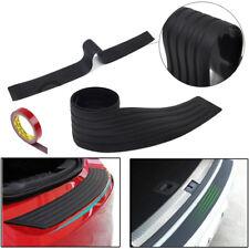 """35"""" Black Rear Rubber Guard Bumper Trim Cover Sill Trunk Scuff Plate Protector"""