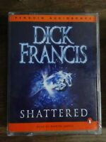 Dick Francis Shattered  read by  Martin Jarvis  2 cassette audio book