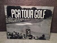 PGA Tour Golf Manual Only 1990 Electronic Arts PC DOS Version