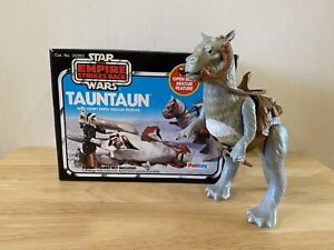 Vintage Star Wars Boxed Tauntaun With Split Belly.
