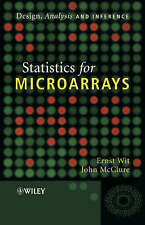 NEW Statistics for Microarrays: Design, Analysis and Inference by Ernst Wit