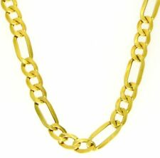 starke Figaro Kette 585 Gold 14 Kt Neu 50 cm Halskette Collier