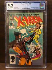 Uncanny X-Men #195 CGC 9.2