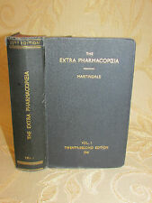 Antique Book Of The Extra Pharmacopceia Martindale Vol. I - 1941