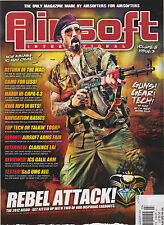 AIRSOFT INTERNATIONAL MAGAZINE UK V8 #3 REBEL ATTACK!,RETURN OF THE MAC!.