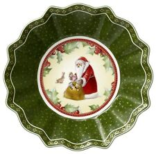 Villeroy & Boch TOY'S FANTASY Small Bowl:  Santa Claus #3864
