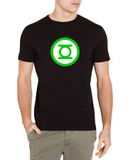 GREEN LANTERN GLOW IN THE DARK PREMIUM T SHIRT - COMIC BOOK SUPER HERO DC COMICS