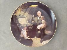 Norman Rockwell Collector Plate Grandpa's Treasure Chest 1810 V