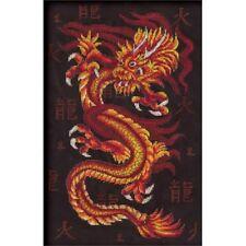"Counted Cross Stitch Kit PANNA - ""Fire dragon"""