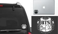 BTS Bangtan Boys K-pop Vinyl window Decal  Laptop Stickers die-cut