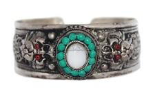 Moonstone Bracelet Silver Bracelet Boho Bracelet Gypsy Bracelet Tribal Bracelet
