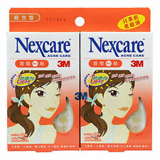 [NEXCARE] 3M Acne Dressing Pimple Treatment Patch Combo 2 Packs 72 Patches NEW