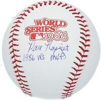 "Ray Knight Mets Signed 1986 World Series Logo Baseball & ""86 WS MVP"" Insc"
