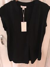 Monsoon Blouse Black Size 10 New With Tags Really Nice