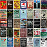 Vintage Metal Poster Retro Tin Signs Man Cave Garage Customization Wall Decor