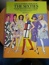 Great fashion designs of The Sixties paper dolls in full color Tom Tierney