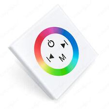 "Led RGB Controller Einbaucontroller Dimmer Wand Steuergerät Touch Panel ""Touch"