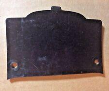 OEM 1987-1993 Kawasaki EX500A Ninja Headlight Access Door 14024-1385 -6C Black