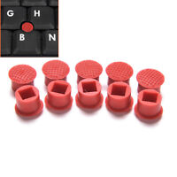 10pcs Rubber Mouse Pointer TrackPoint Red Cap for IBM Thinkpad Laptop Nipple Js