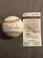 Cal Ripken Jr Signed Baltimore Orioles OML Baseball Inscrip 2131 2632 JSA COA 🔥
