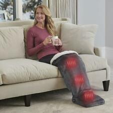 The Sherpa lined Leg Warming Heated Heat Foot Massager Relaxation Massage