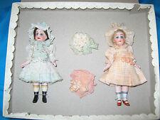 Hertwig Mignonette dolls in box Germany