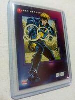 [1992] HAVOK (Marvel Comics) X-MEN - Trading Card #70 [Near Mint+ 9.8] IMPEL '92