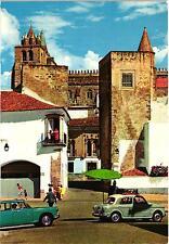 EVORA PEUGEOT 404, FIAT 1100 - Portas de Moura e Catedral - UNUSED POSTCARD